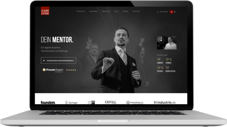 Claudio Catrini Website