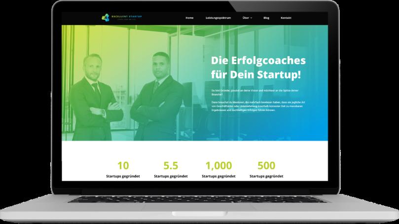 Excellent Startup Website