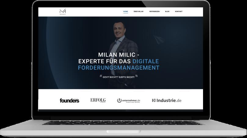Milan Milic Website