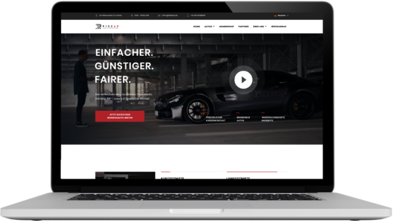 Ride Ad Website