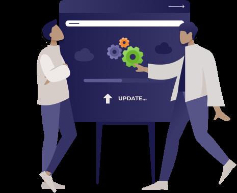 Betrieb und Updates